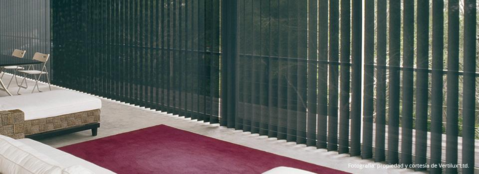 Cortinas de bandas verticales dino conte s a - Cortinas para oficinas verticales ...